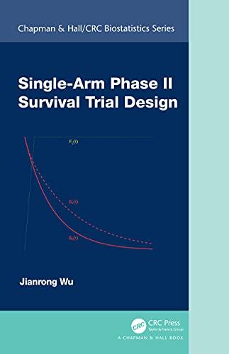 Single-Arm Phase II Survival Trial Design (Chapman & Hall/CRC Biostatistics Series)-Original PDF