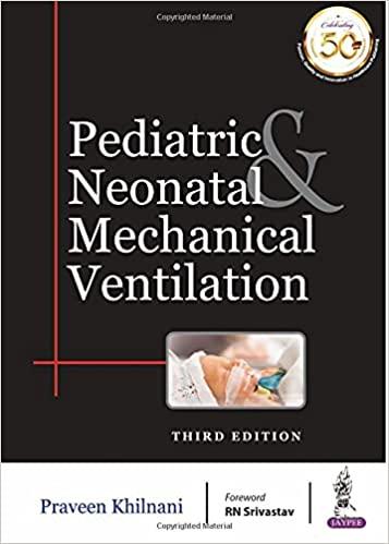 Pediatric & Neonatal Mechanical Ventilation-Original PDF