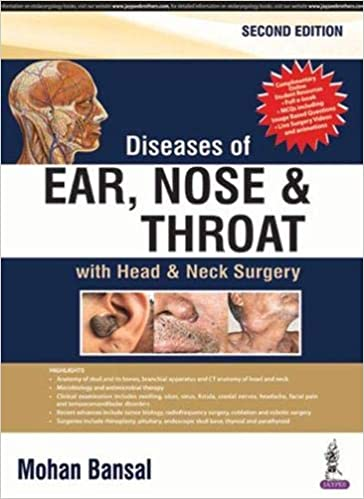 Diseases of Ear, Nose and Throat: with Head & Neck Surgery 2nd Edition-Original PDF