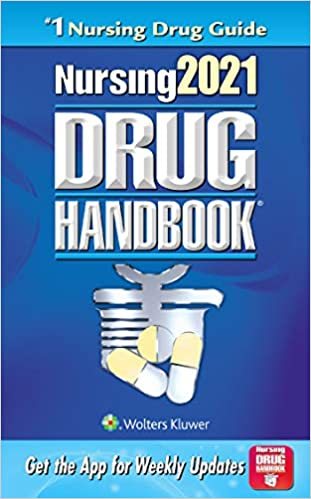Nursing2021 Drug Handbook (Nursing Drug Handbook) 41th Edition-EPUB+Converted PDF