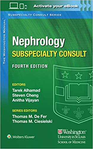 Washington Manual Nephrology Subspecialty Consult 4th Edition-EPUB+Converted PDF