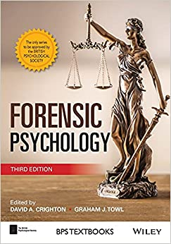 Forensic Psychology (BPS Textbooks in Psychology) 3rd Edition-Original PDF