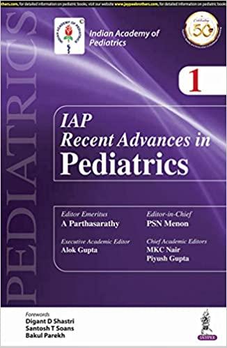 IAP Recent Advances In Pedatrics 1-Original PDF