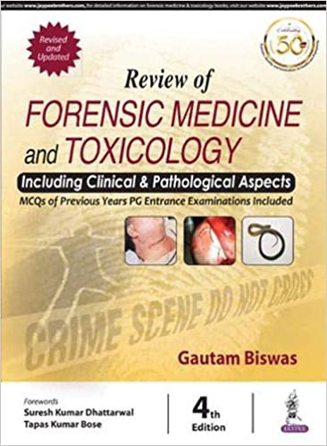 Review of Forensic Medicine and Toxicology 4th Edition-Original PDF