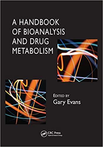 A Handbook of Bioanalysis and Drug Metabolism-Original PDF