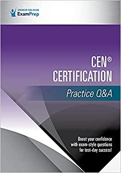 CEN® Certification Practice Q&A-Original PDF