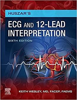 Huszar's ECG and 12-Lead Interpretation 6th Edition-EPUB
