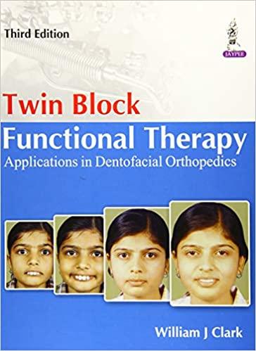 Twin Block Functional Therapy: Applications in Dentofacial Orthopedics 3rd Edition-Original PDF