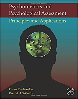 Psychometrics and Psychological Assessment: Principles and Applications-Original PDF
