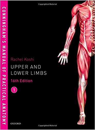 Cunningham's Manual of Practical Anatomy VOL 1 Upper and Lower limbs-Original PDF
