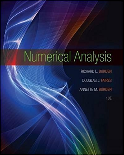 Numerical Analysis 10th edition-Original PDF