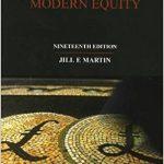 Hanbury & Martin : Modern Equity, 19/Ed-Original PDF