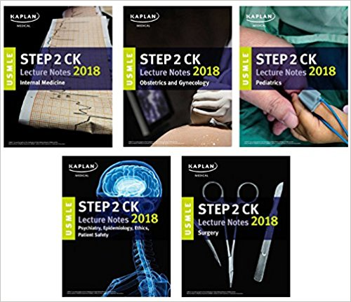USMLE Step 2 CK Lecture Notes 2018: 5-Book Set (USMLE Prep)-Original PDF