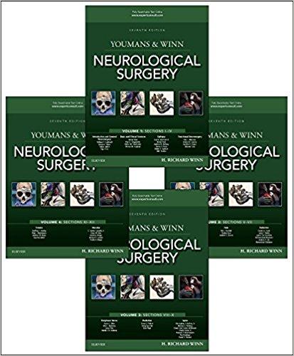 Youmans and Winn Neurological Surgery, 4-Volume Set, 7e-Original PDF+Videos