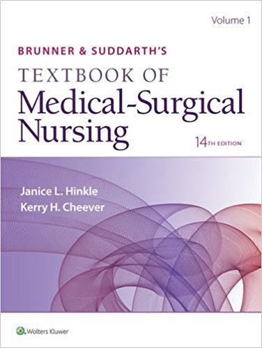 Brunner & Suddarth's Textbook of Medical-Surgical Nursing 14th Edition-High Quality PDF