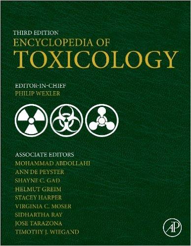 Encyclopedia of Toxicology, 3rd Edition -Original PDF