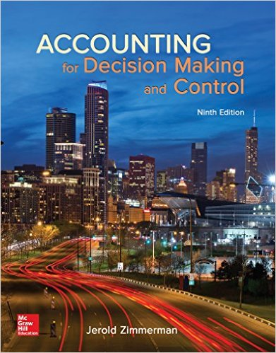 Accounting for Decision Making and Control 9th Edition-Original PDF