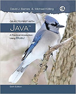 Objects First with Java: A Practical Introduction Using BlueJ (6th Edition)-Original PDF