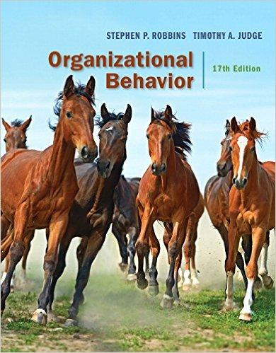 Organizational Behavior 17th Edition -EPUB