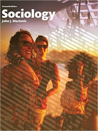 Sociology 16th Edition-Original PDF