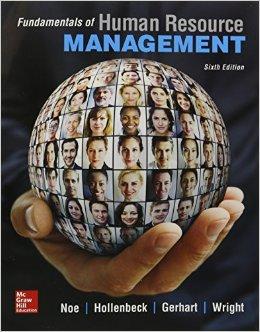 Fundamentals of Human Resource Management 6th Edition -Original PDF