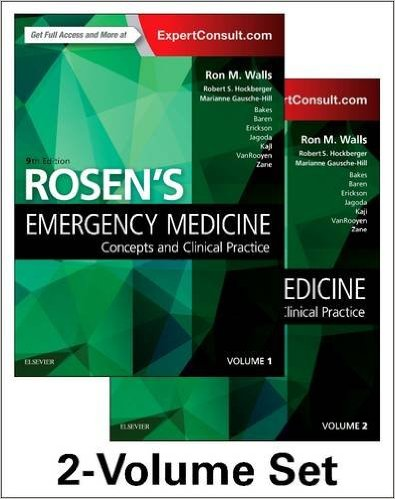 Rosen's Emergency Medicine: Concepts and Clinical Practice: 2-Volume Set, 9e-PDF+Videos