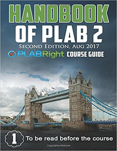 HANDBOOK OF PLAB 2: PLAB RIGHT COURSE GUIDE-Original PDF