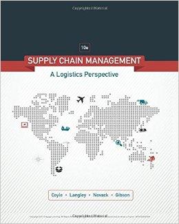 Supply Chain Management: A Logistics Perspective 10th Edition-Original PDF