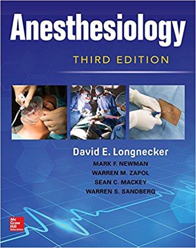 Anesthesiology, Third Edition-Original PDF