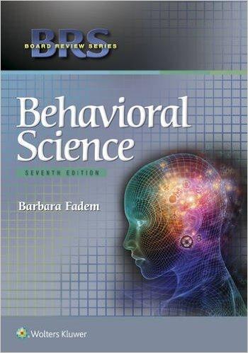 BRS Behavioral Science, 7e - High Quality PDF