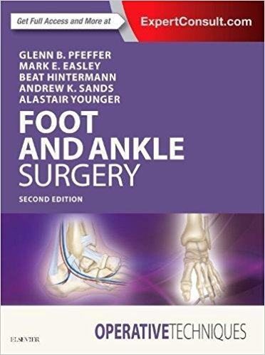 Operative Techniques: Foot and Ankle Surgery, 2e-Original PDF+Videos