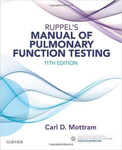 Ruppel's Manual of Pulmonary Function Testing, 11e-Original PDF