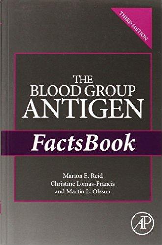 The Blood Group Antigen FactsBook, Third Edition - Original PDF