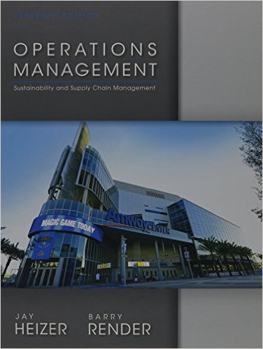 Operations Management 11th Edition - Original PDF