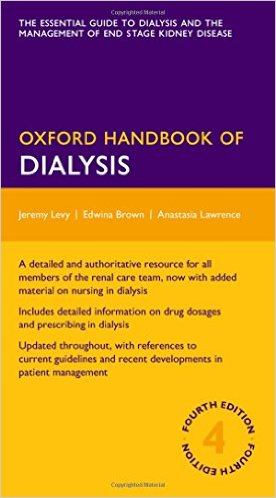 Oxford Handbook of Dialysis (Oxford Medical Handbooks) 4th Edition - Original PDF