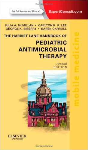 The Harriet Lane Handbook of Pediatric Antimicrobial Therapy, 2e - Original PDF