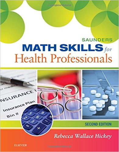 Saunders Math Skills for Health Professionals, 2e – Original PDF