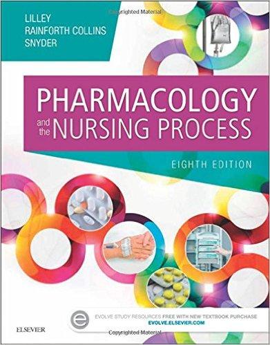 Pharmacology and the Nursing Process, 8e-Original PDF