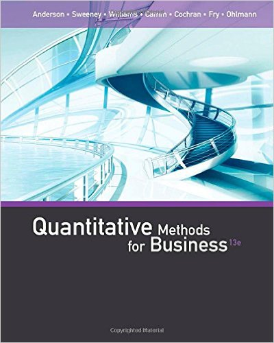 Quantitative Methods for Business 13th Edition - Original PDF
