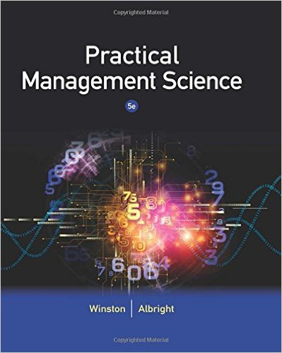 Practical Management Science 5th Edition - Original PDF