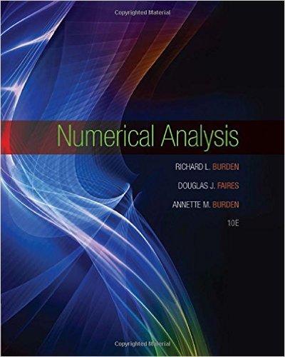 Numerical Analysis 10th Edition - Original PDF