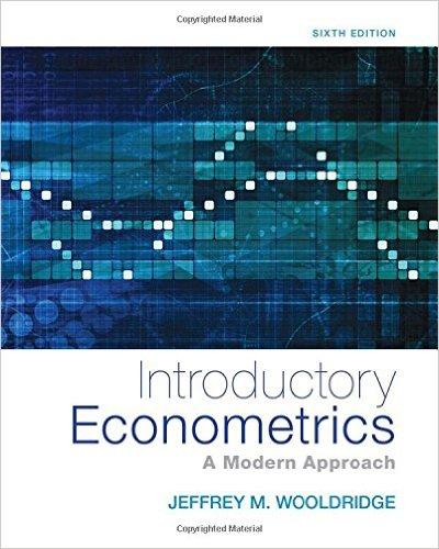 Introductory Econometrics: A Modern Approach (Upper Level Economics Titles) 6th Edition - Original PDF