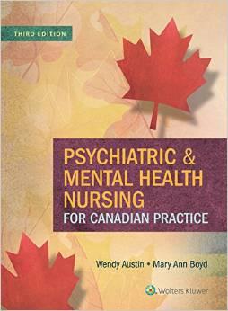 Psychiatric & Mental Health Nursing for Canadian Practice, 3rd Edition - Original PDF