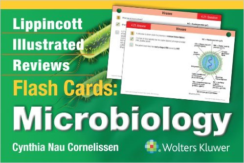 Lippincott Illustrated Reviews Flash Cards: Microbiology - Original PDF