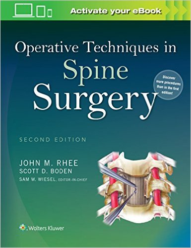 Operative Techniques in Spine Surgery Second Edition - EPUB