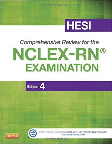 HESI Comprehensive Review for the NCLEX-RN Examination, 4e – Original PDF