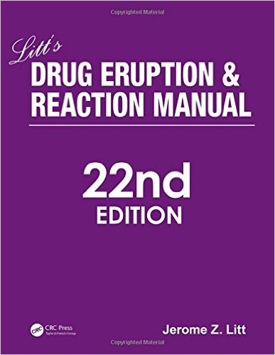 Litt's Drug Eruption and Reaction Manual, 22nd Edition - Original PDF