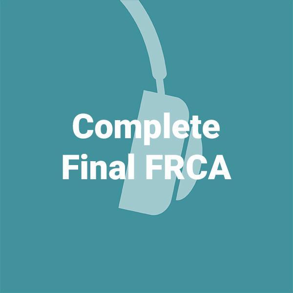 Complete Final FRCA bundle-Dr.Podcasts-MP3