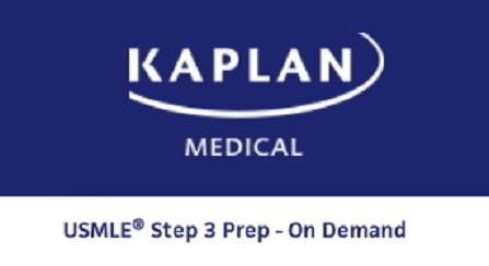 KAPLAN USMLE Step 3 Online Prep On Demand 2017 2018-Videos
