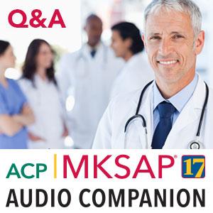 MKSAP 17 Audio Companion Q&A 2015 - MP3